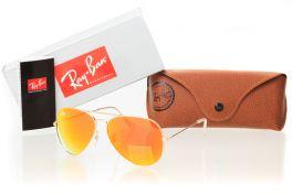 Солнцезащитные очки, Ray Ban Original 3026D-orange
